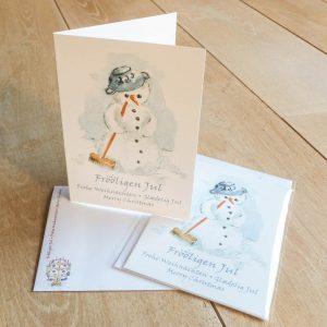 weihnachtskarte schneemann_100103_