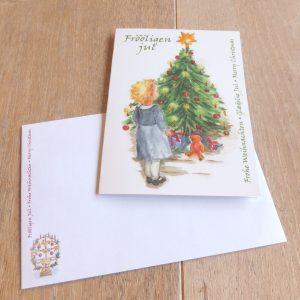 WeihnachtskarteTannenbaum Detail_100136