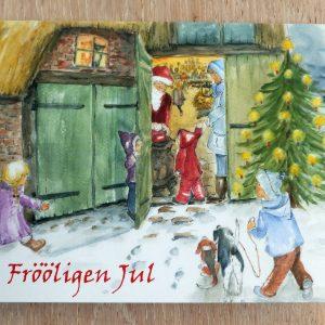 Grußkarte Weihnachtsmarkt
